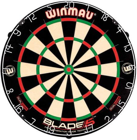 WINMAU BLADE 5 DUAL CORE ハードダーツボード
